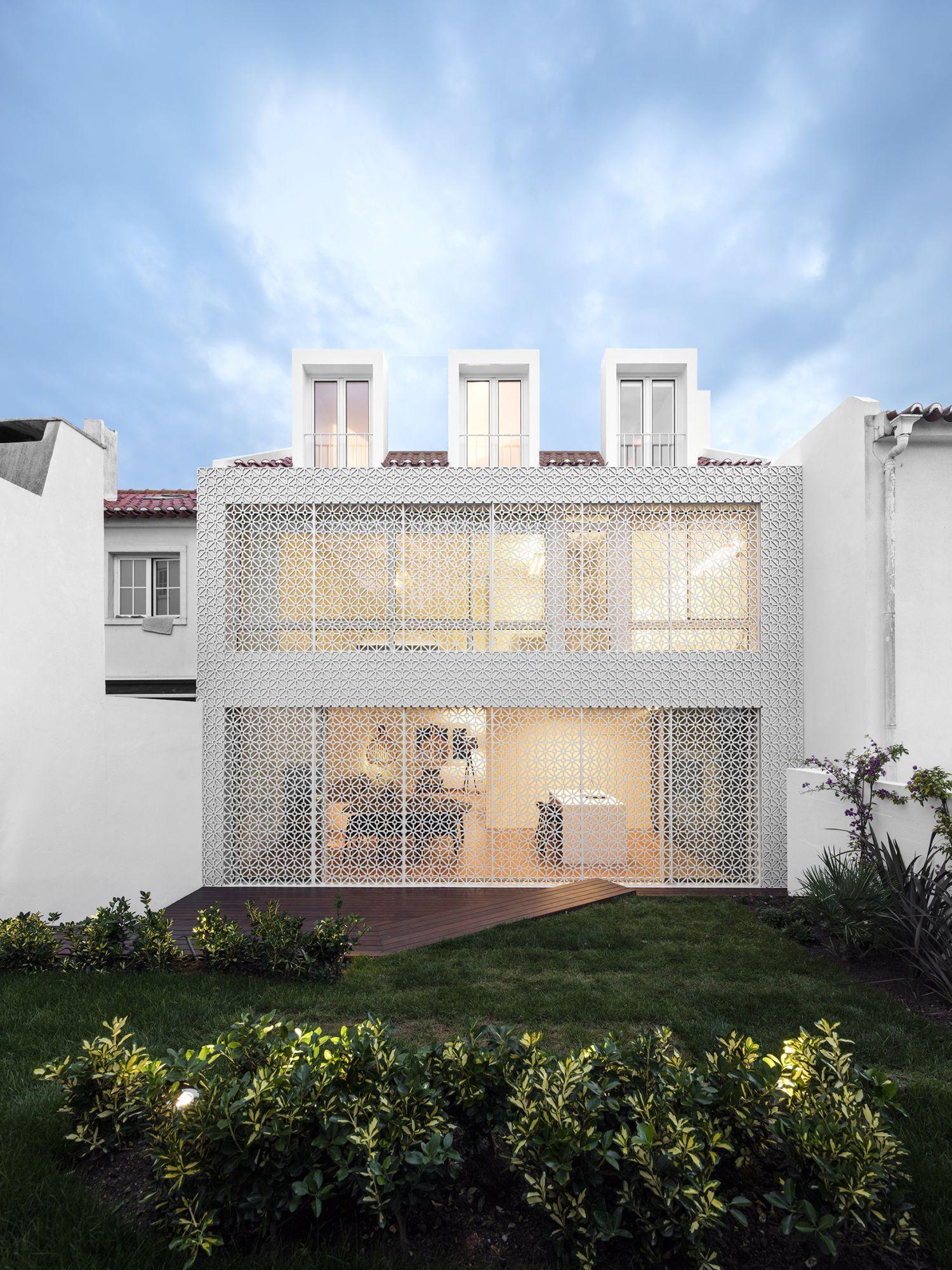 "Restelo III House"" in Lissabon | architecture | Pinterest | Moderne ..."