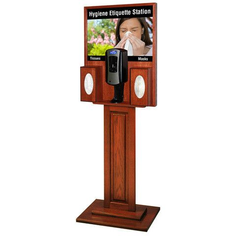 Wood Purell Hand Sanitizer Dispenser Stand Purell Hand Sanitizer