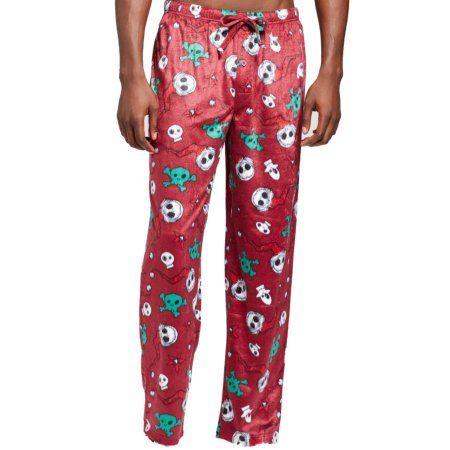 The Nightmare Before Christmas Mens Maroon Jack Skellington Fleece Sleep  Pants M - Walmart.com 3744fc6fe
