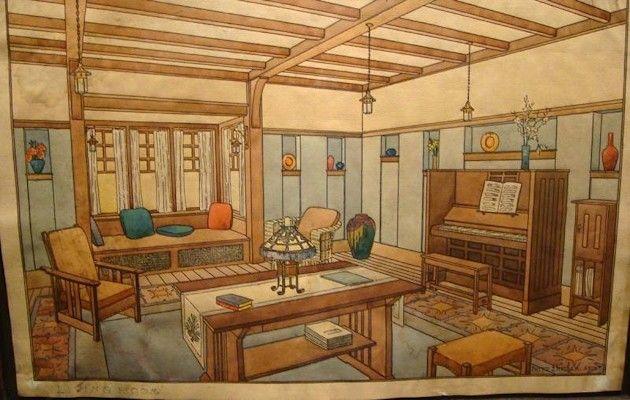 Gustav Stickley Craftsman Home Art And Crafts