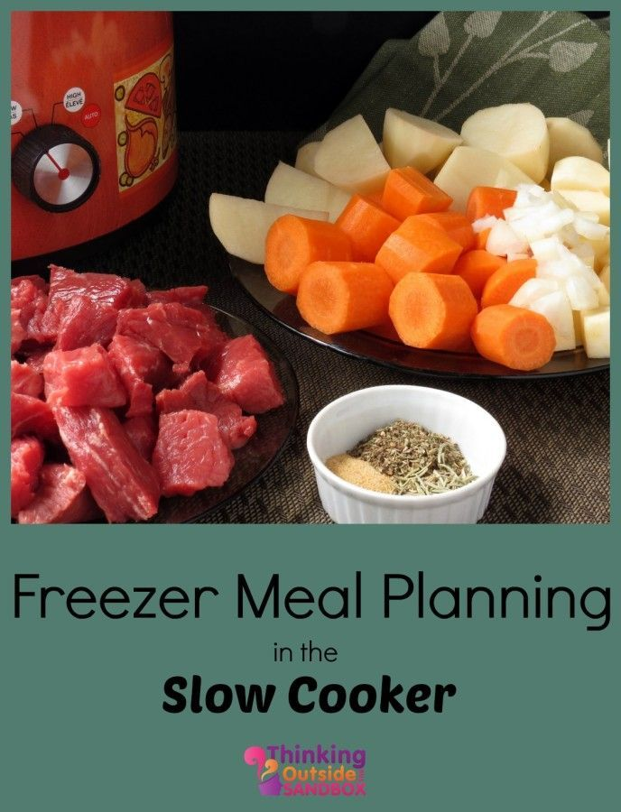 Beginners Guide Freezer to Meal Plan - Thinking Outside The Sandbox Family DIY, Recipes, Autism, Kids