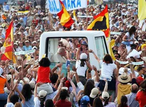 Viaje de JUAN PABLO II a España