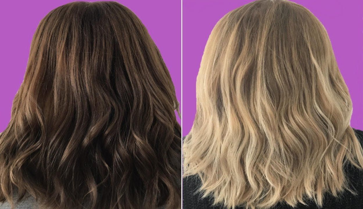 Hydrogen Peroxide To Lighten Hair How To Do It Safely How To Lighten Hair Lighten Hair Naturally Bleached Hair
