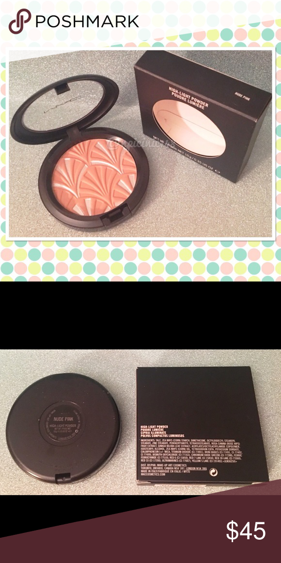 MAC Philip Tracey Nude Pink Highlight Powder BNIB MAC Philip Tracey Nude Pink Highlight Powder BNIB. Limited edition. NO TRADES. MAC Cosmetics Makeup Face Powder