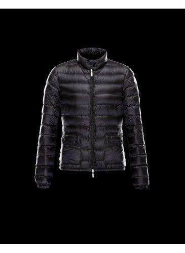 moncler jacket black womens
