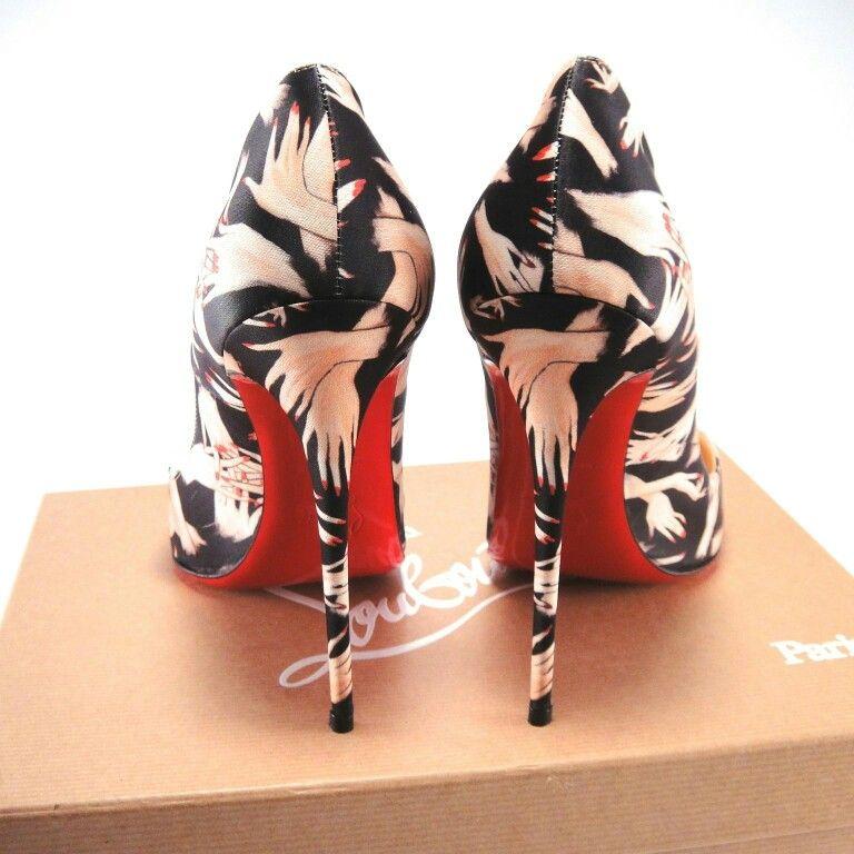 9bc7b772b417 http   www.ebay.com itm Christian-Louboutin-Black -Tissu-Beauty-Hand-Print-So-Kate-120mm-Heels-38-8-265- 271941962262 hash item3f51010a16 g MlsAAOSw   ...