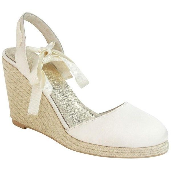 Comfortable Wedding Espadrille wedges for Bohemian Bride, bridesmaid ...