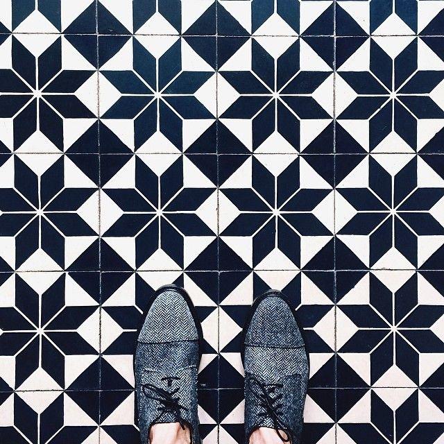 Chevron mens shoes by Thom Browne
