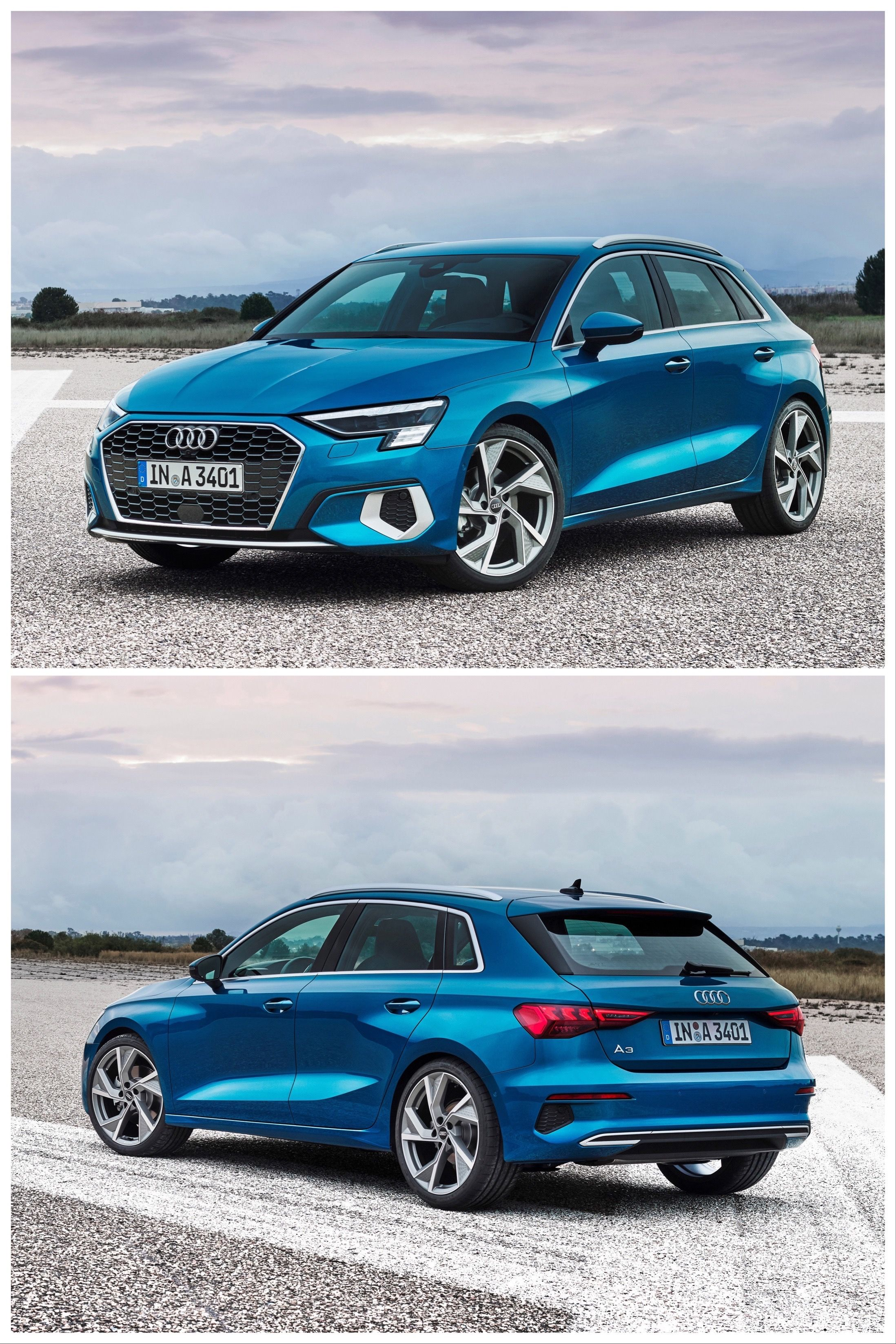 The 2021 Audi A3 Sportback Gets Tweaked and Looks Sweet in