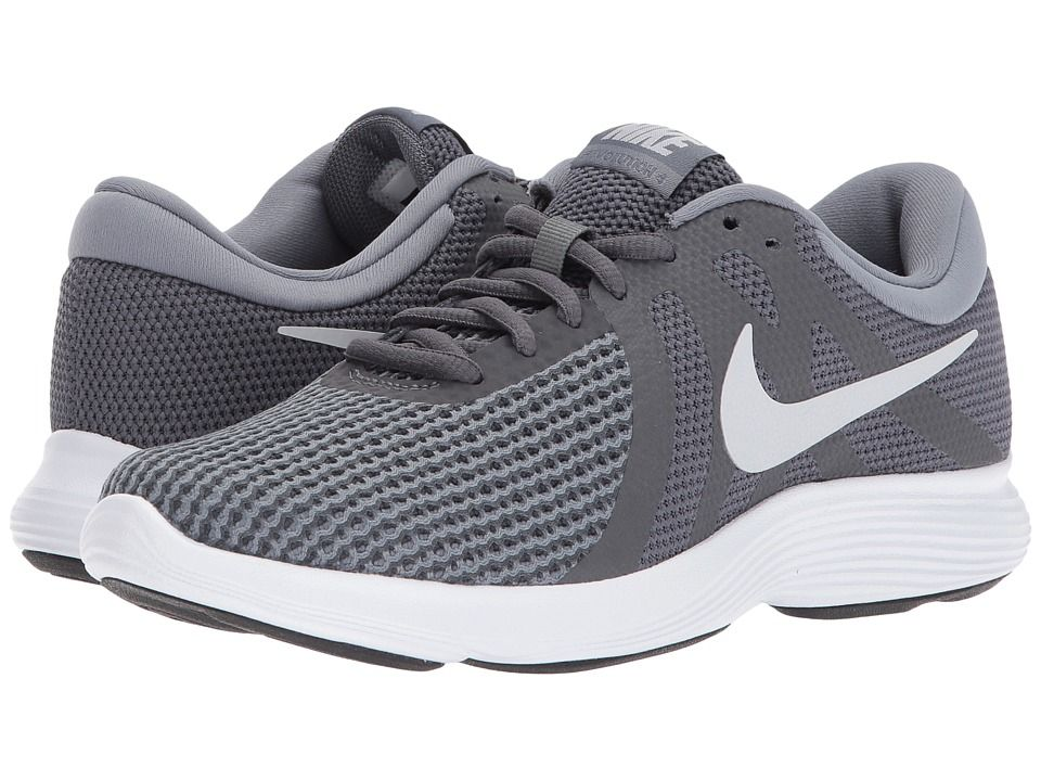 5c816f1f268 Nike Revolution 4 (Dark Grey Pure Platinum Cool Grey White) Women s Running  Shoes