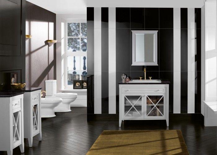 Cuarto de baño clásico y muy elegante | Espacios de baños ...