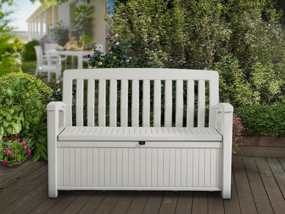 Patio Garden In 2020 Outdoor Storage Bench Storage Bench