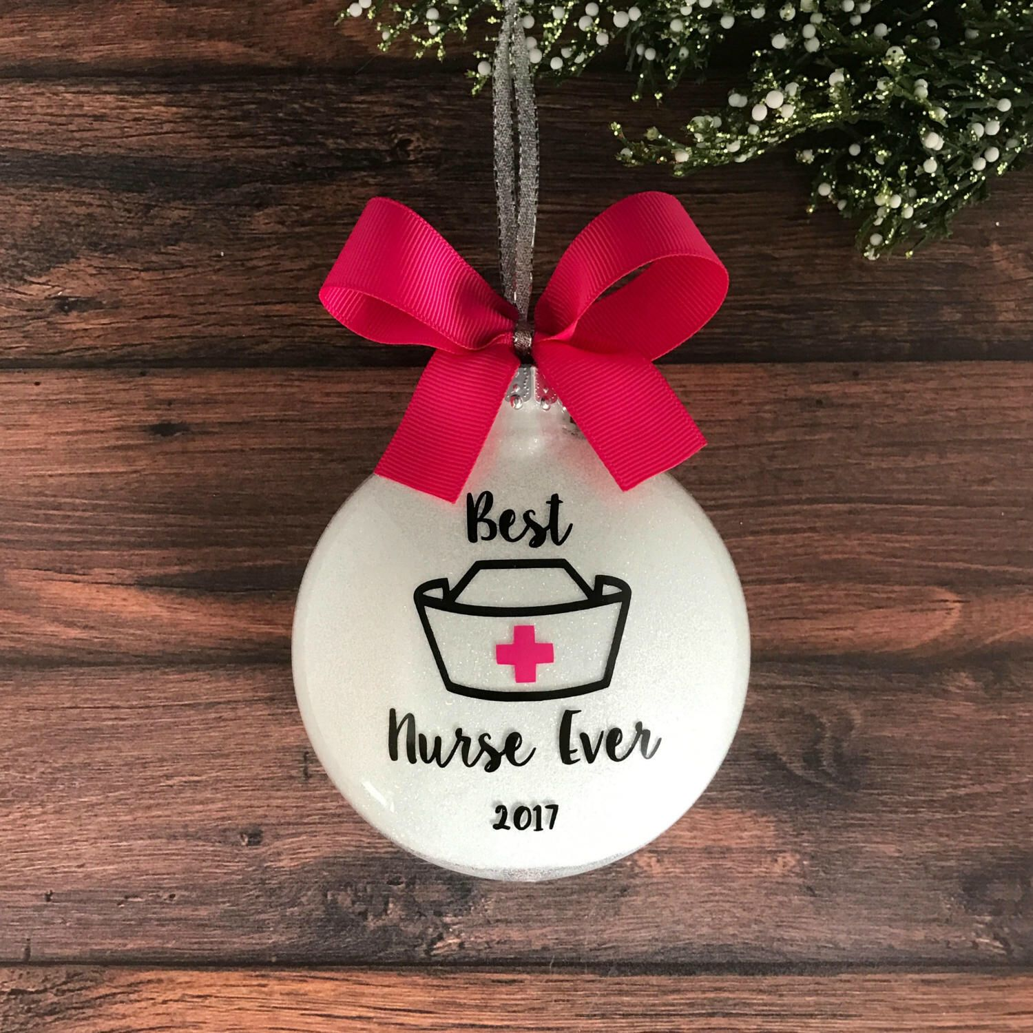 Personalized Nurse Gift Ideas, Nurse Ornament, Gift For Nurse Thank ...