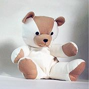 Joyful Teddy Bear to make with onesie!!