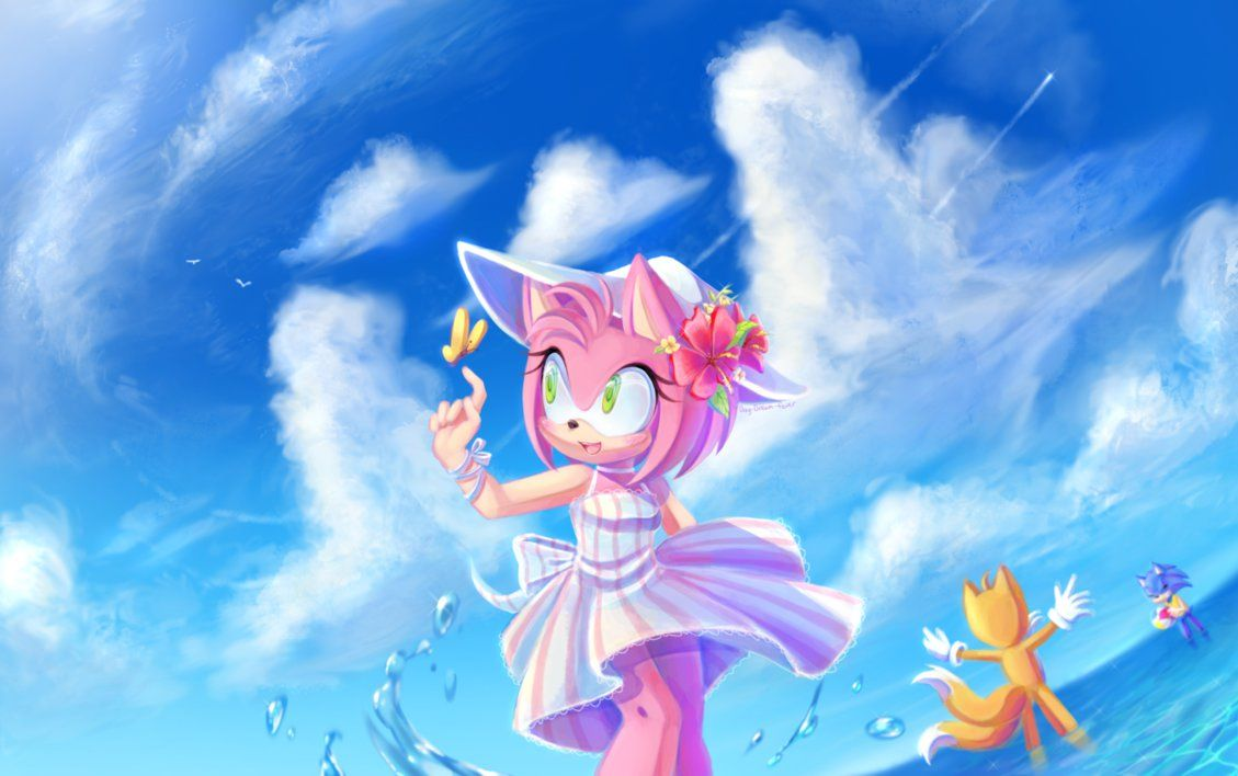 At The Beach by Day-Dream-Fever on DeviantArt