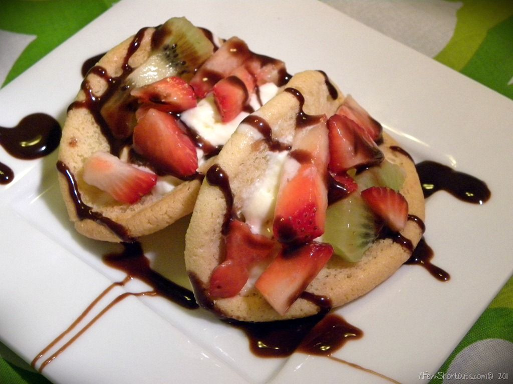 Cookie Fruit Tacos