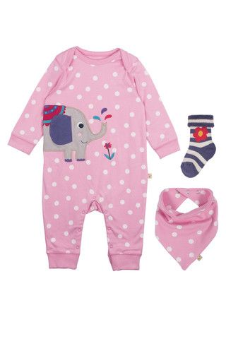 118fb32a1646 Frugi - Organic Cotton - Bubbly Gift Set - Blossom Scatter Spot ...