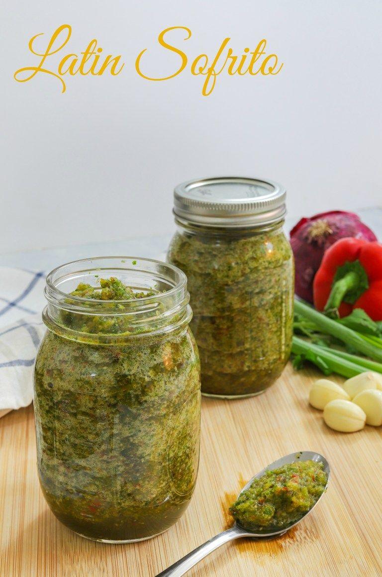 Homemade Latin Sofrito Recipe #sofritorecipe