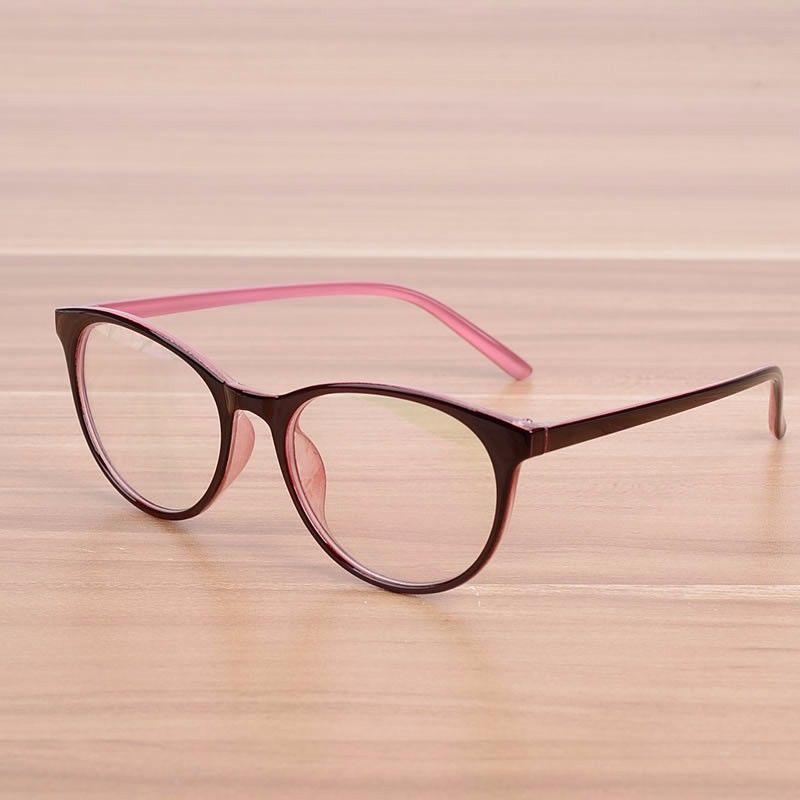 feadfbae72 NOSSA Brand Oval Women Men s Prescription Eyewear Frame Female Elegant  Optical Glasses Frames Spectacle Frame Goggles