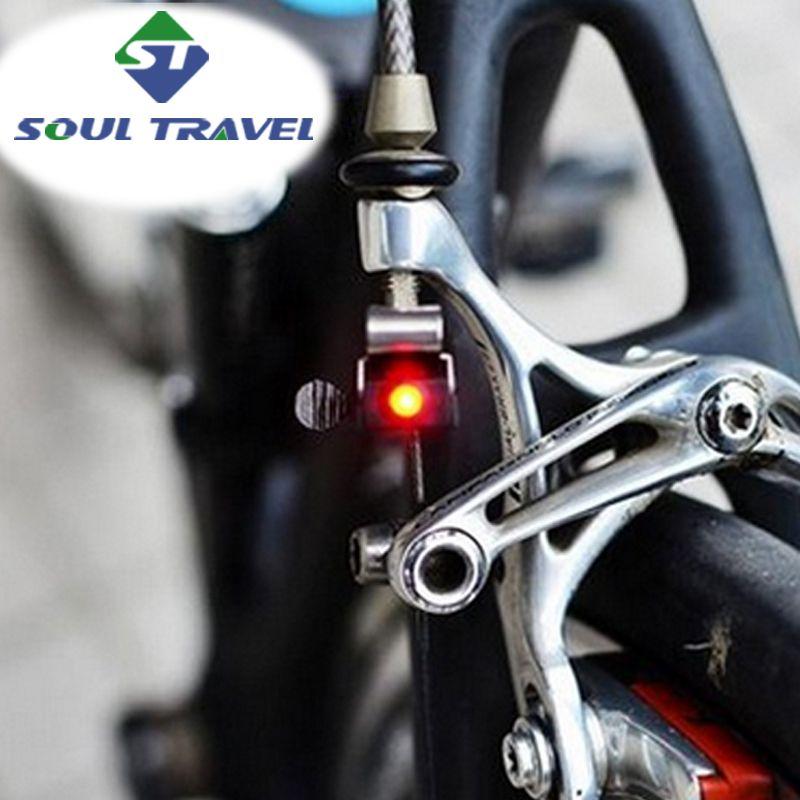 Hot Baterai Travel Jiwa Jari Jari Roda Sepeda Cahaya Cree Super Rem Led Lampu Terbatas Nyata Bersepeda Aksesoris Sepeda Bicicleta Bicycle Lights Cycling Accessories Bike Accessories