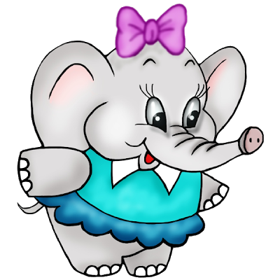 cute baby elephant clipart free clip art images png 400 400 cute rh pinterest com free clipart elephant outline free elephant clipart images
