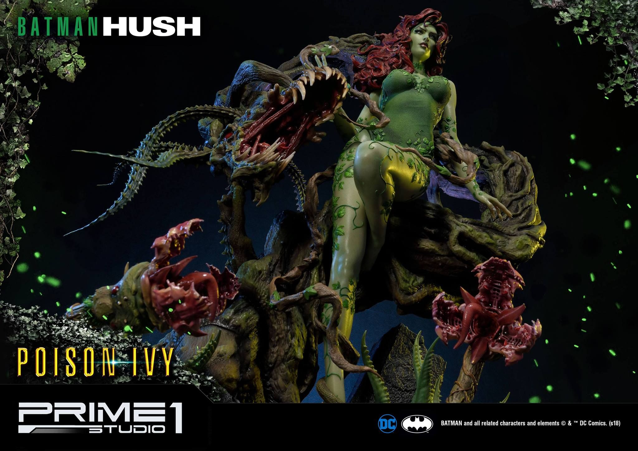 Pin By Sonesh Joshi On Poison Ivy Batman Hush Hush Hush Poison Ivy