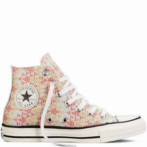eb665085e81 Converse-Womens-Chuck-Taylor-All-Star-Print-Woven-Natural-551644F-New-Multi -Size