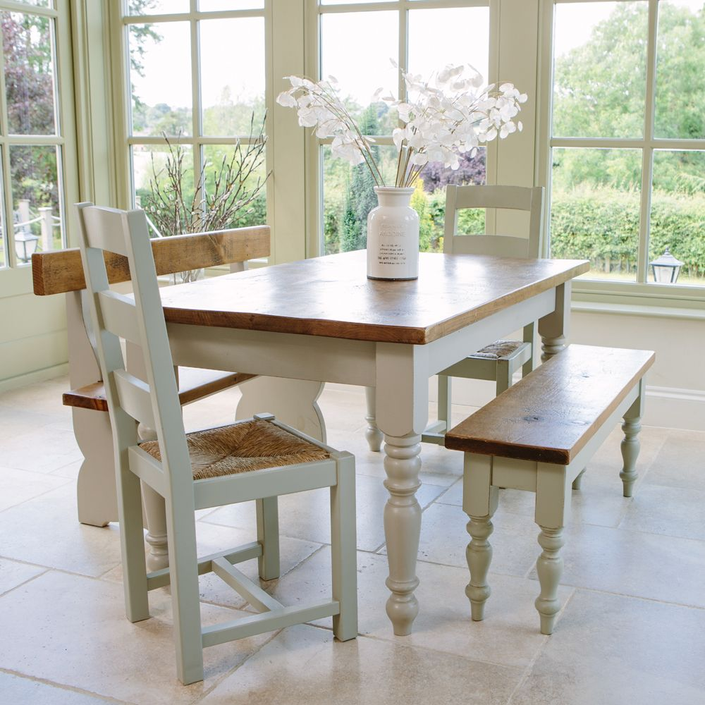 Hardwick Dining range with rustic paint finish available in various