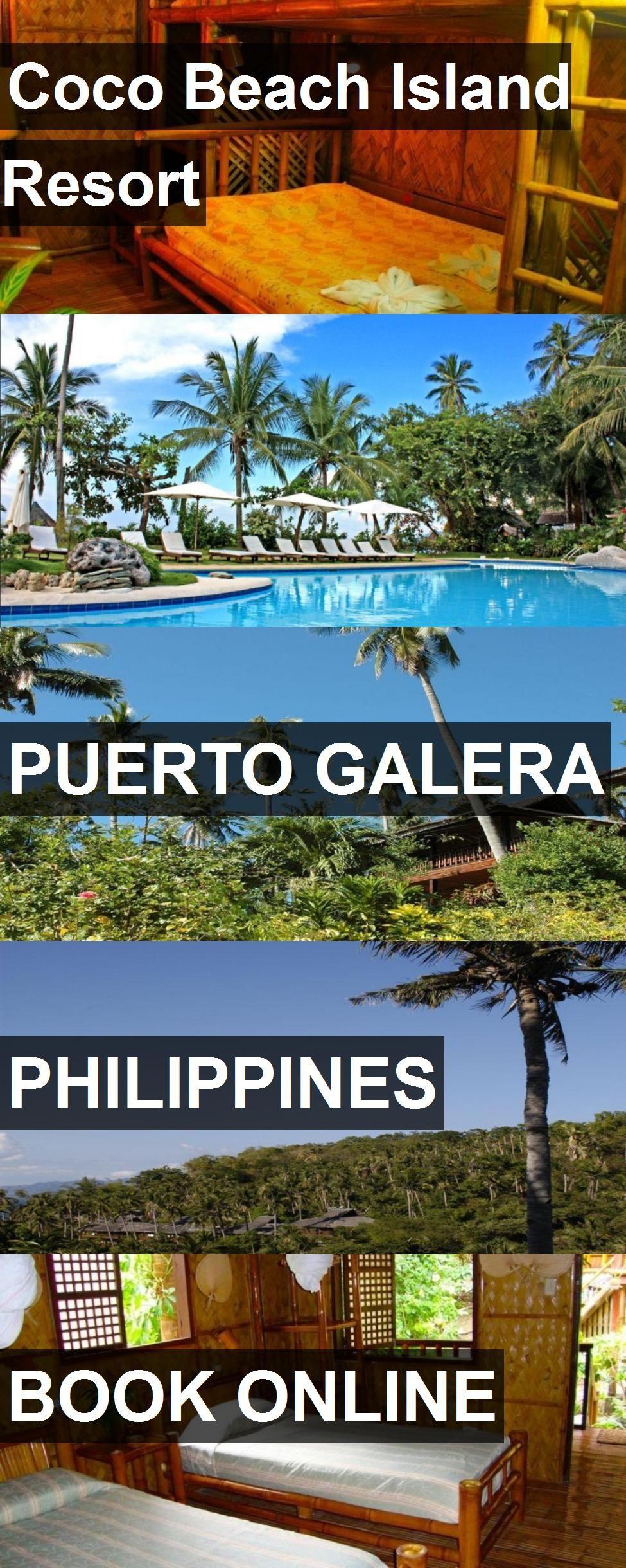 Hotel Coco Beach Island Resort in Puerto Galera
