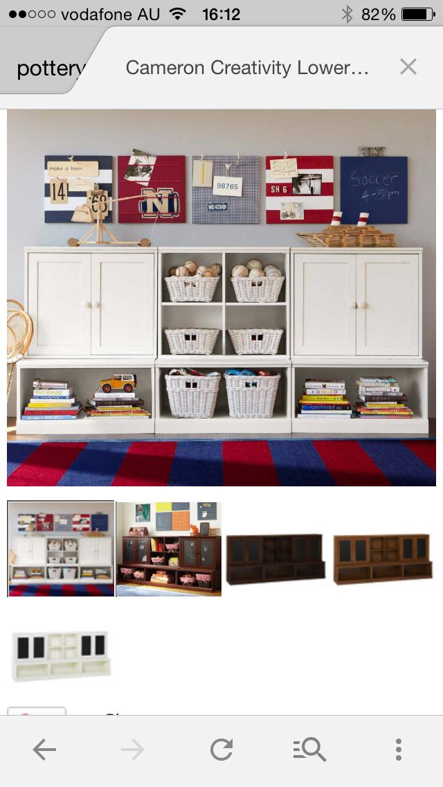 Rumpus Room Designs: Toy Storage, Home Furniture
