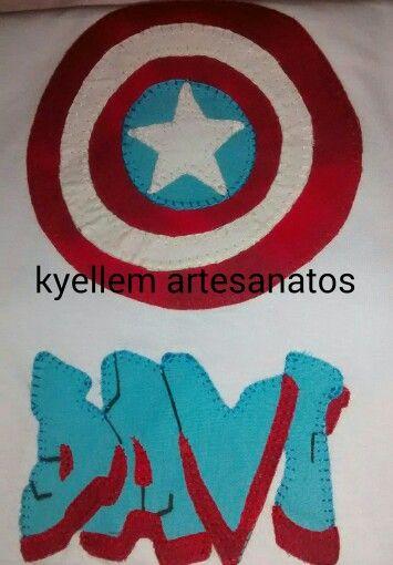 Camiseta do capitão america