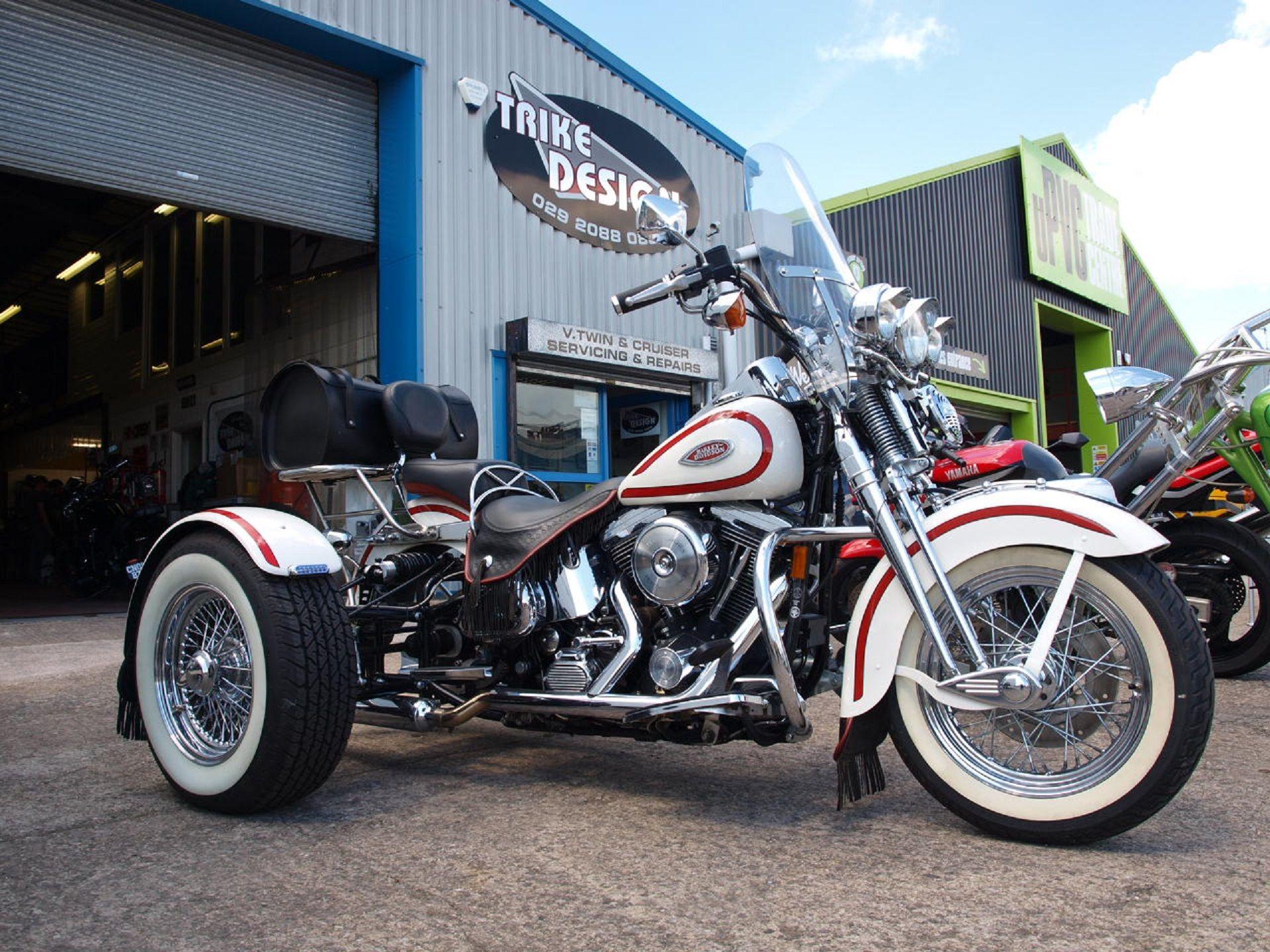 Harley Heritage Springer Trike Http Trike Design Co Uk Used Trikes For Sale Uk Trikes Bikes Sale Trike Harley Davidson Trike Cool Bikes