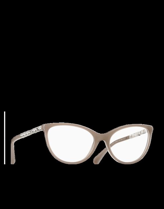 e9e9bf97d0 Gafas para graduar, acetato-beige - CHANEL | Lentes | Gafas, Lentes ...