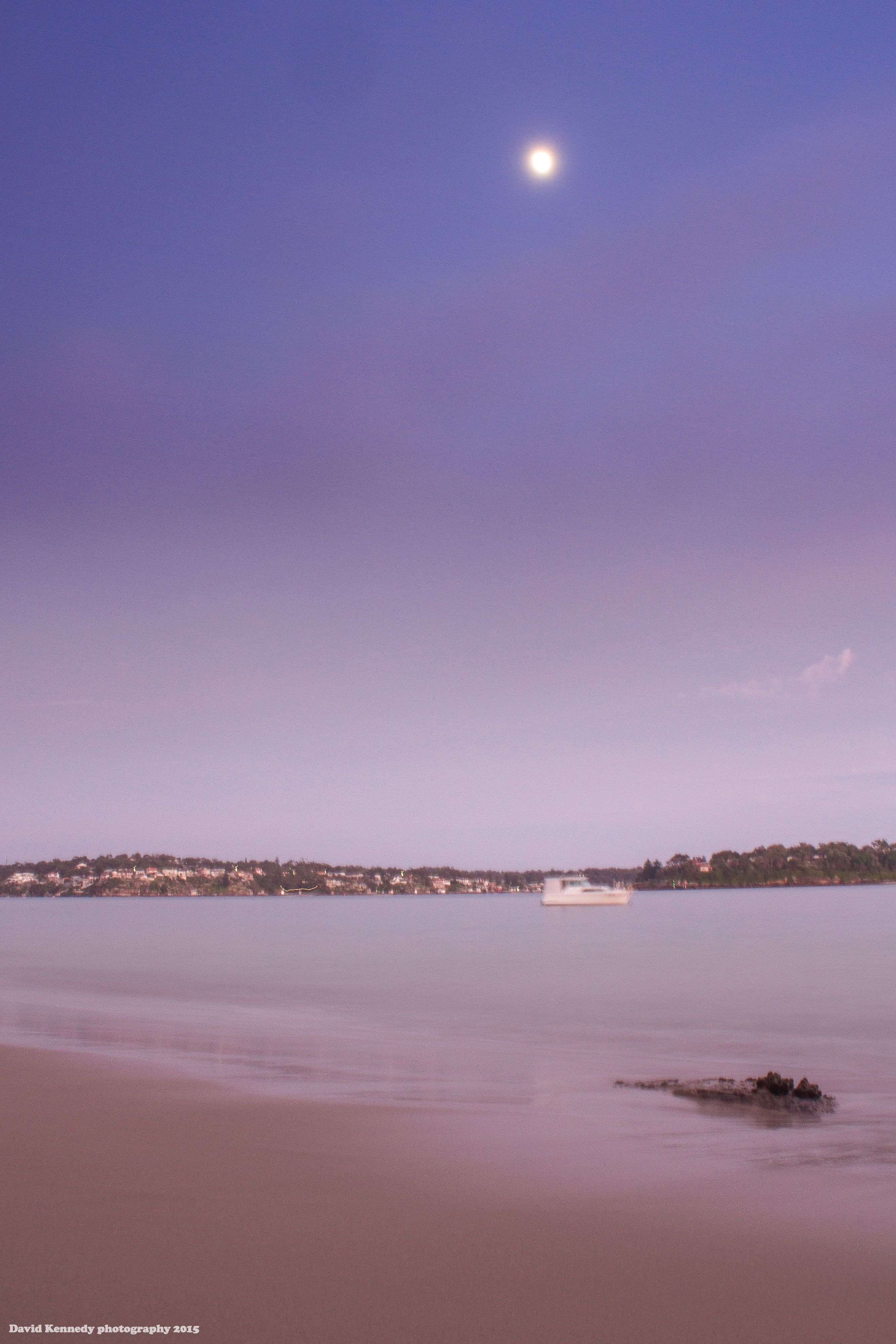 Early morning colours Gunya Beach: David Kennedy photography