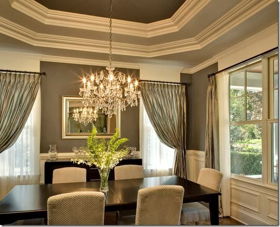 Lovely Dining Room Ceiling Designs