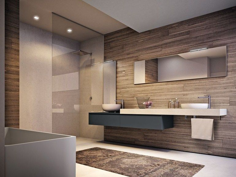 Arredo bagno completo in laminato CUBIK N°15 by IdeaGroup   Bagno ...