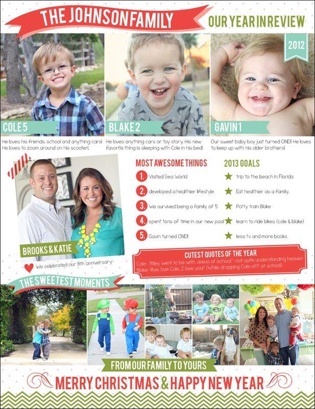 2012 family newsletter johnsonfamjourney blog christmas