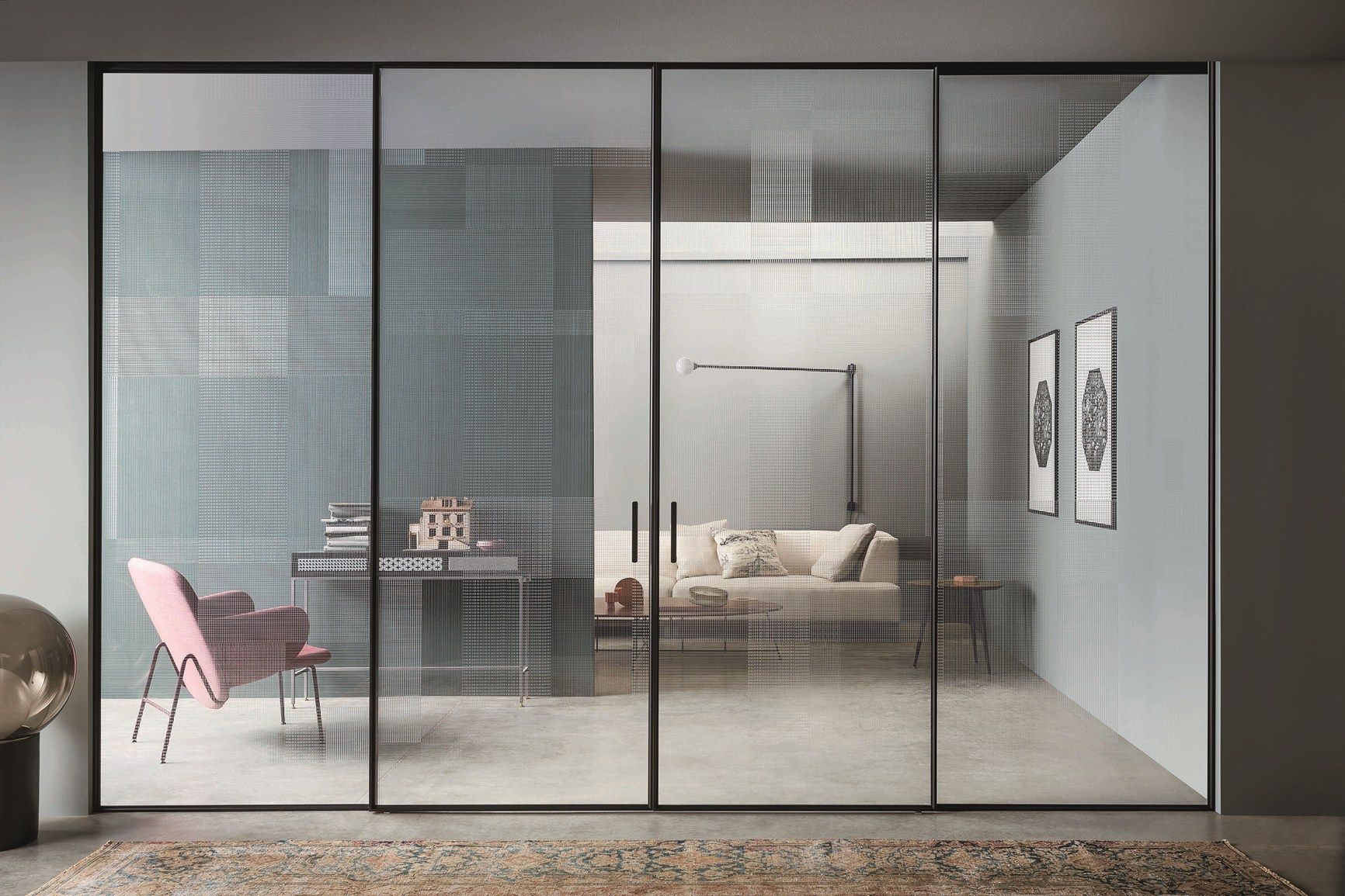 New Lualdi Collections Presented At Mdw Minimalism Interior Internal Sliding Doors Doors Interior
