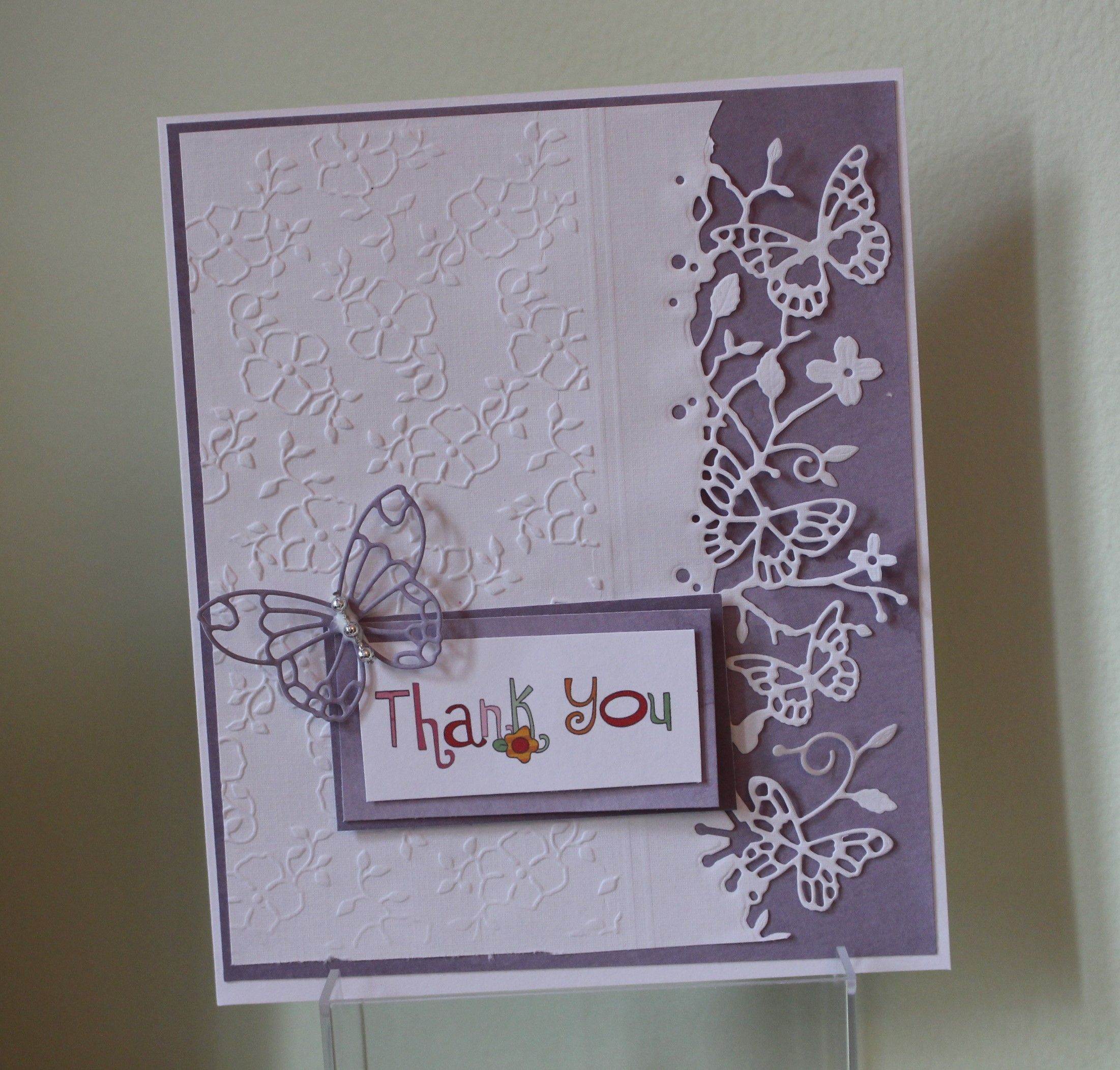 Memory Box Butterfly Border Favourite Cards Pinterest