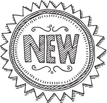 Vintage New Label Circle Drawing
