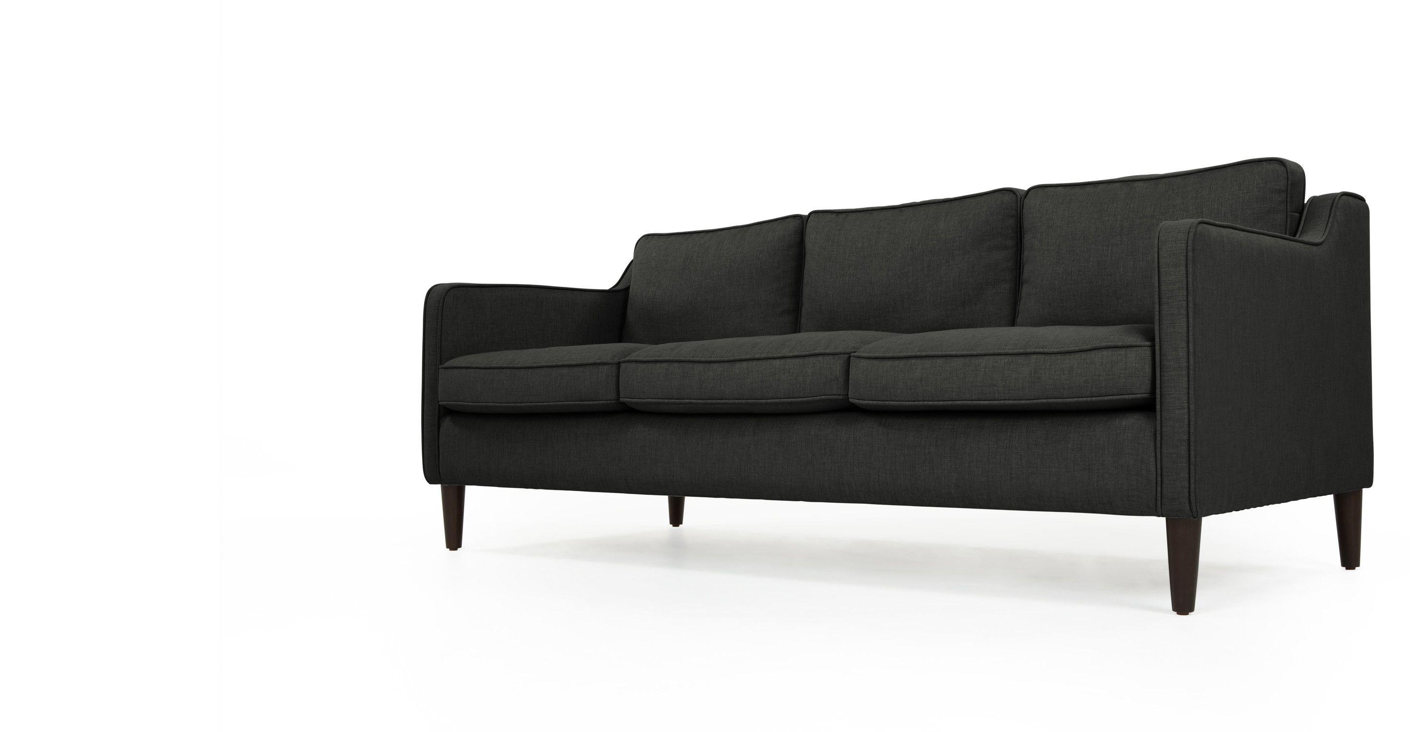 Orson 2 seater sofa Tudor Red made Furniture