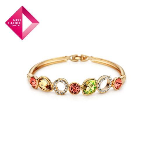 Aliexpress.com : Buy Free Shipping Neoglory MADE WITH SWAROVSKI ELEMENTS Crystal Bracelets Auden Rhinestone Bangles Party Jewelry Best Gift from Reliable bangles suppliers on NEOGLORY JEWELRY