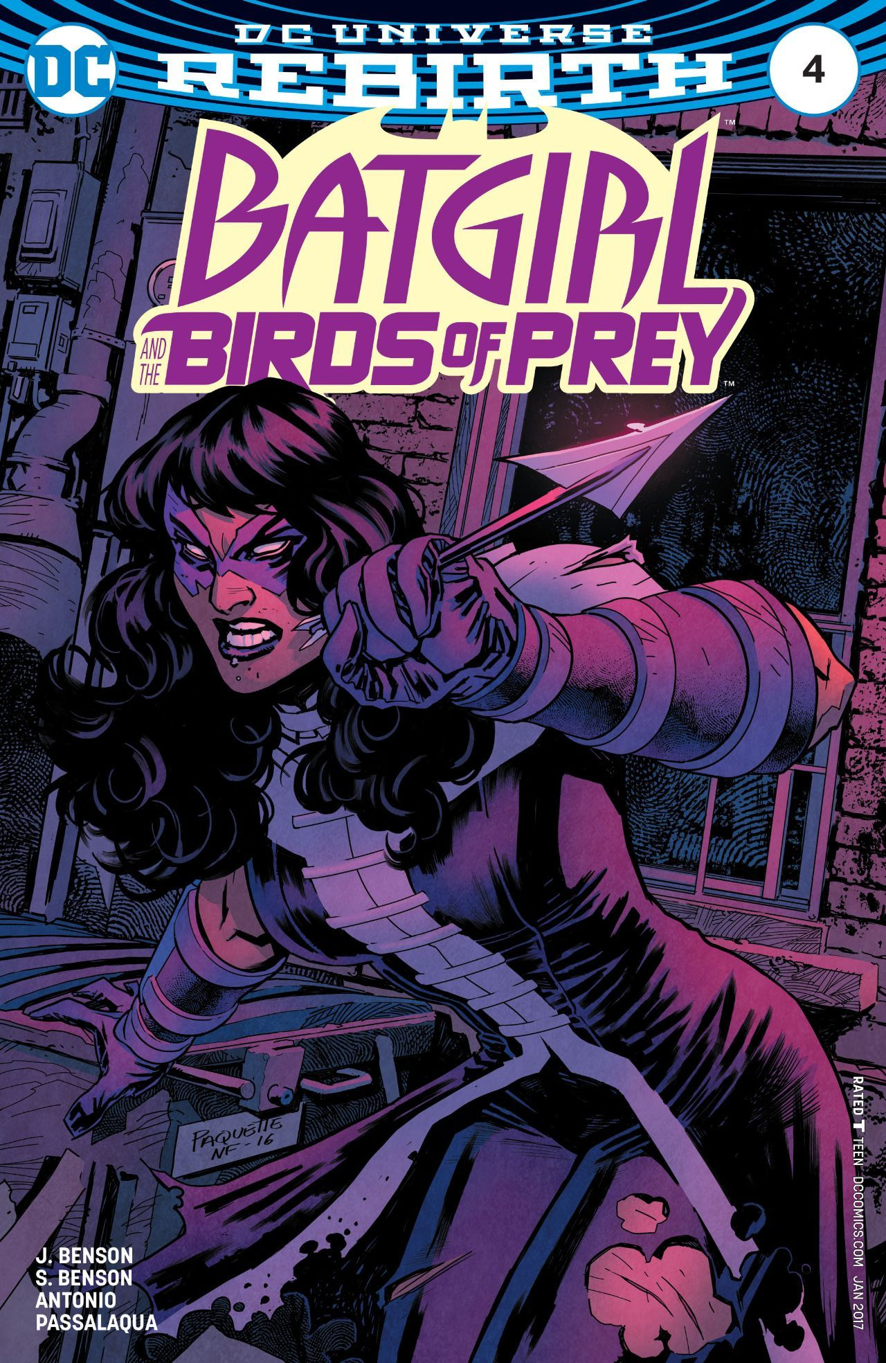 Batgirl and the Birds of Prey 4 Owned ics