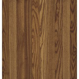 Bruce Frisco 3 25 In W Prefinished Oak Hardwood Flooring Gunstock