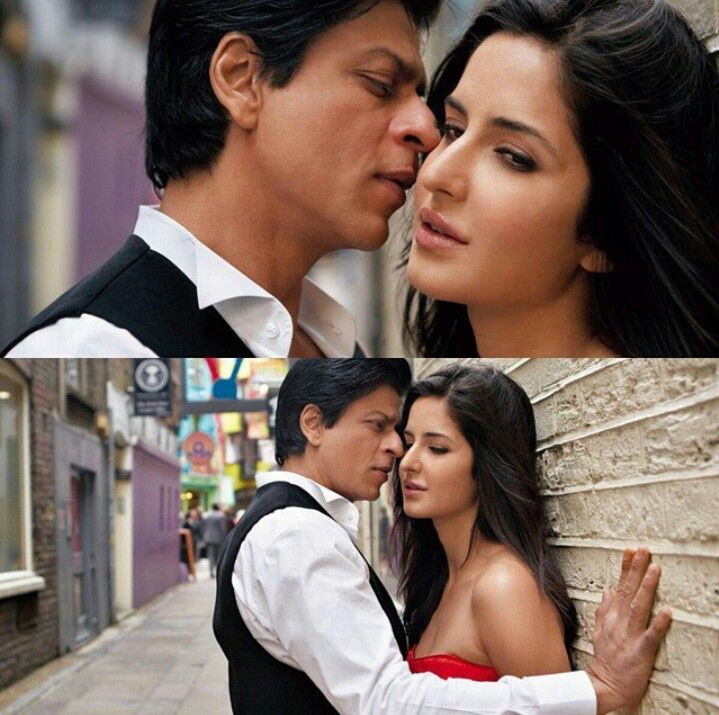 Katrina Kaif Shahrukh Khan In Saans Jab Tak Hai Jaan
