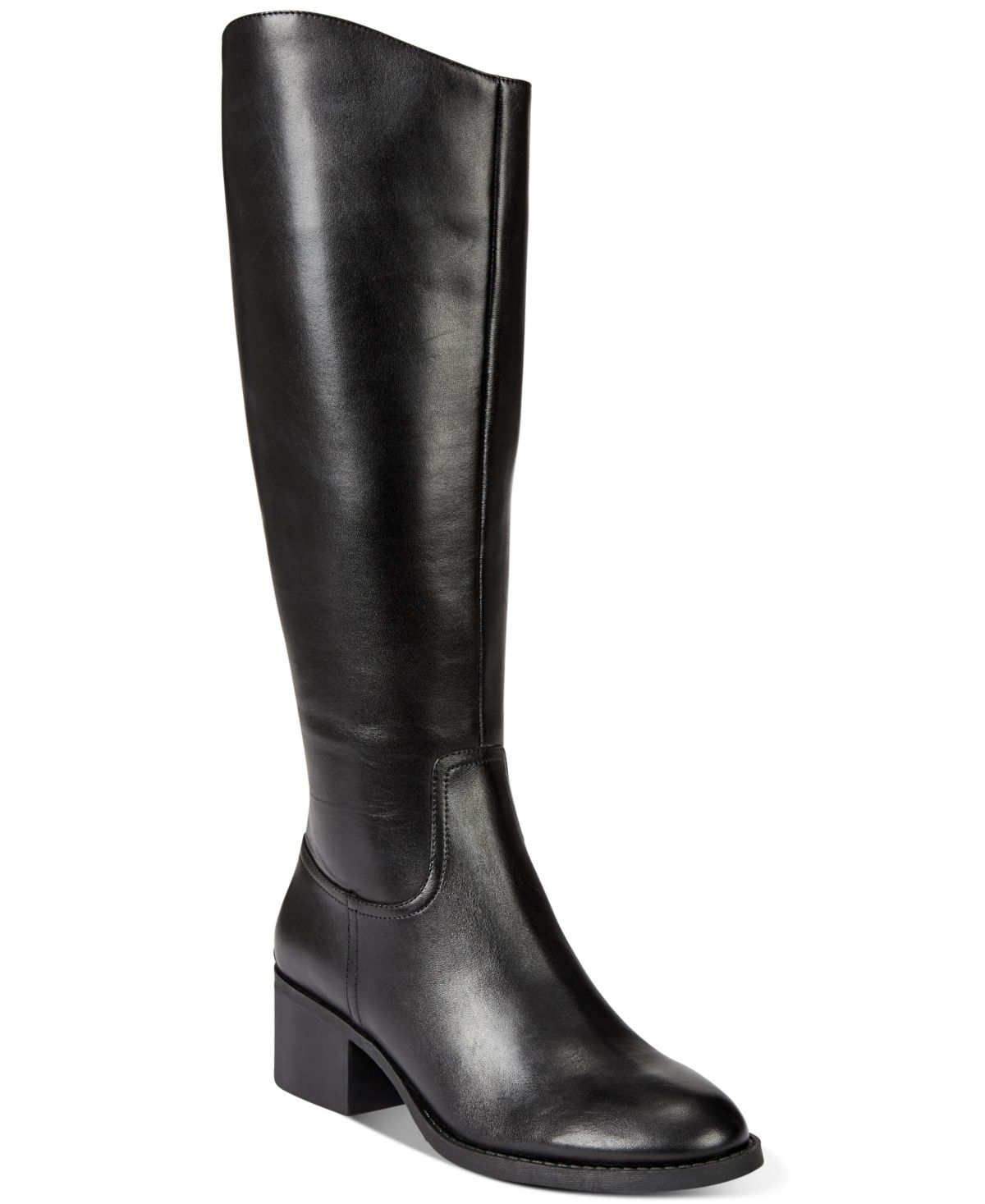 Cerie Wide-Calf Riding Boots