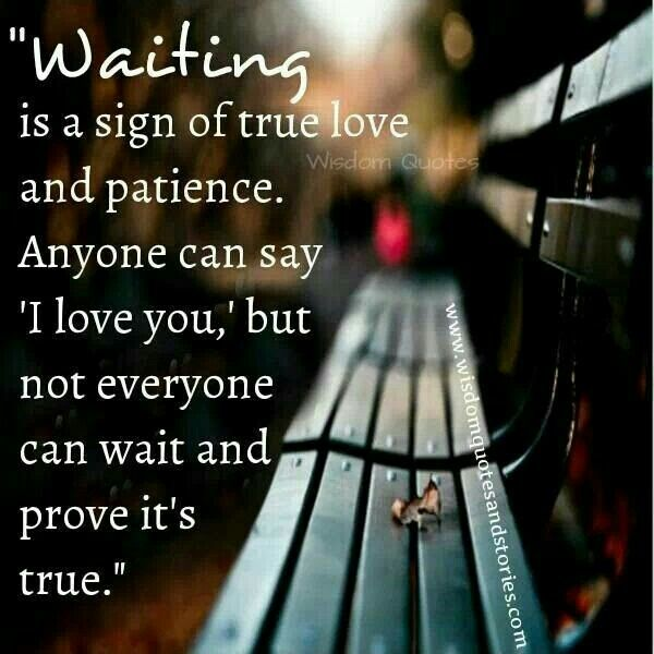 Patiently Waiting Baby Girl Love 2 Love Quotes True Love