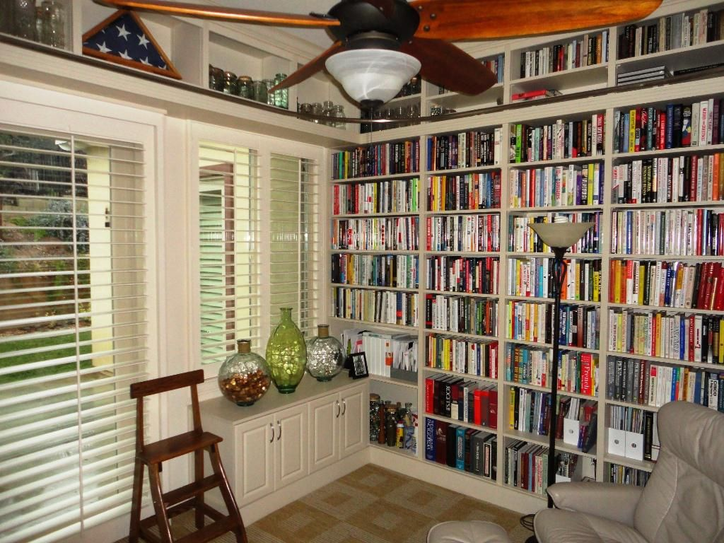 Image of Home Library Organization Home fice