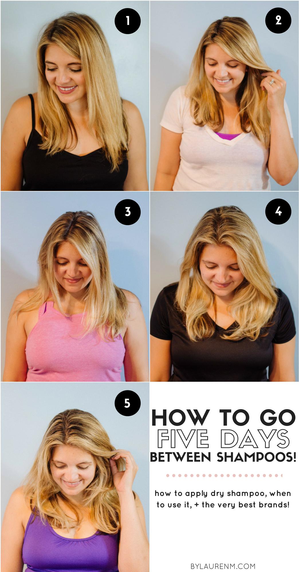 How To Use Dry Shampoo Best Dry Shampoo Tips By Lauren M Best Dry Shampoo Using Dry Shampoo Dry Shampoo