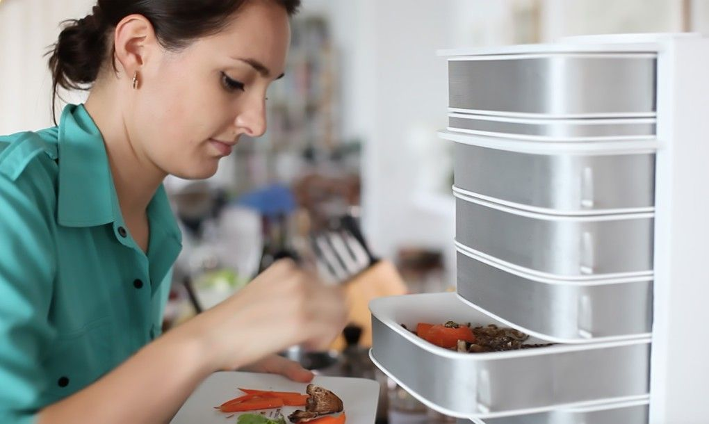 LIVIN Farms make it easy to grow edible insects at home
